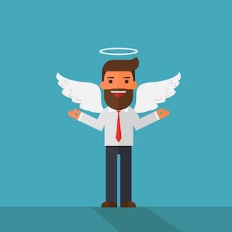 Engel geschäftsmann charakter