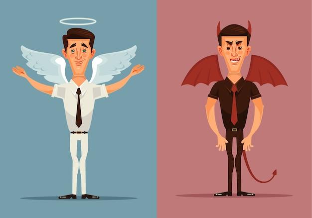 Engel und teufel mann charakter.