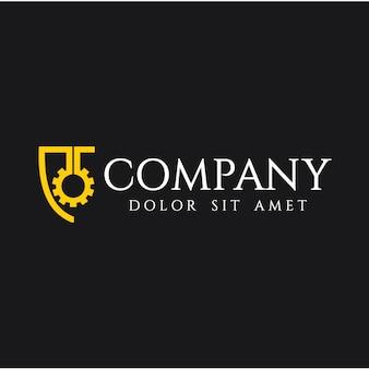 Engineering unternehmen logo template design
