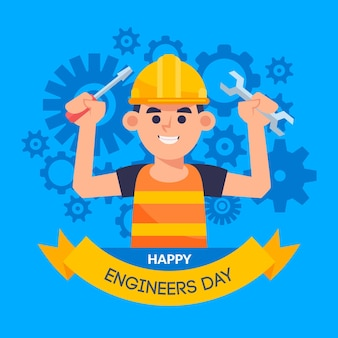 Engineers day celebration design
