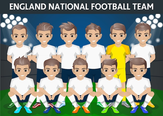 England national football team für internationales turnier