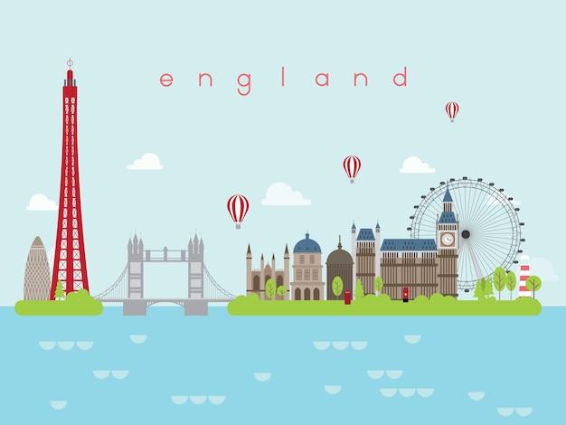 England sehenswürdigkeiten infografik
