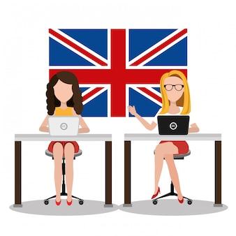 Englisch lernen design