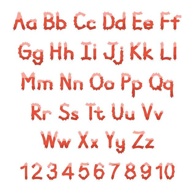 Englisches alphabet