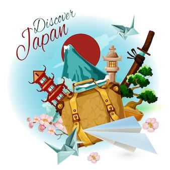 Entdecke japan poster