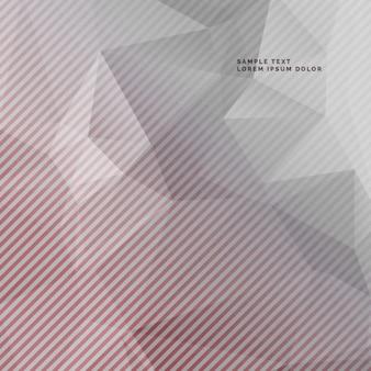 Entsättigt grauen hintergrund mit abstrakten geometrischen form