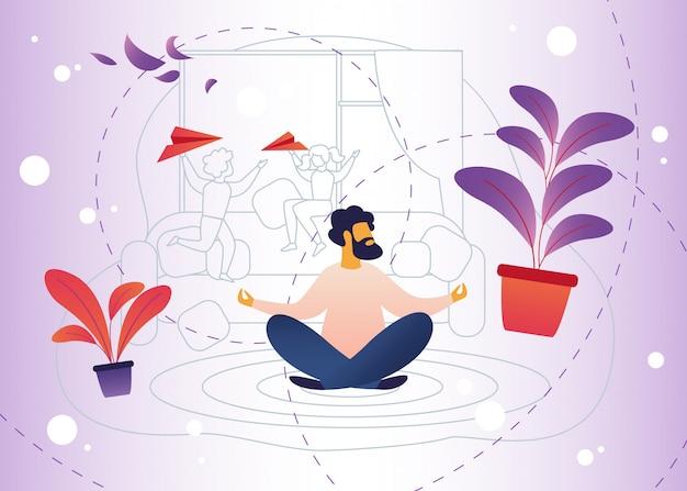 Entspannung, stress von elternschaft und kinderbetreuung.