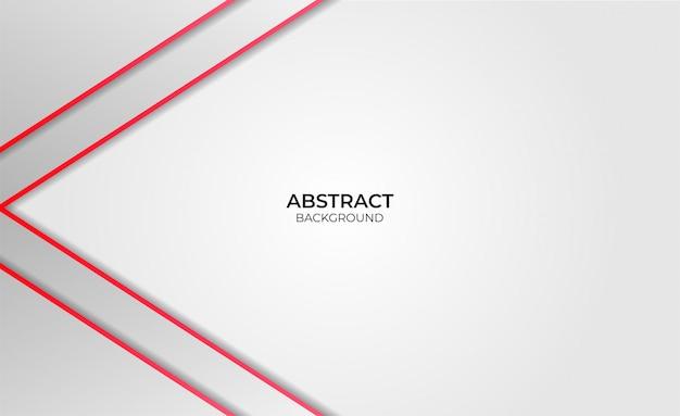 Entwerfen sie abstrakten roten und weißen hintergrund
