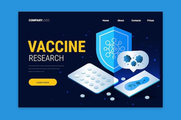 Entwicklung von coronavirus-impfstoffen - zielseite