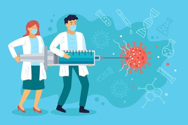 Entwicklung von coronavirus-impfstoffen