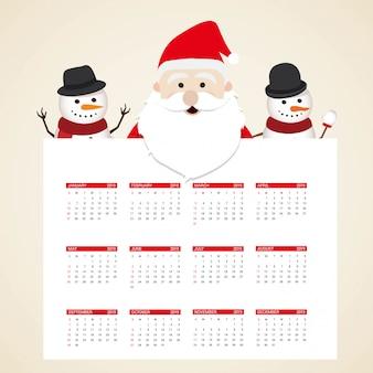 Entwurfsvorlage für 2019 kalender für weihnachts- oder neujahrsdekoration