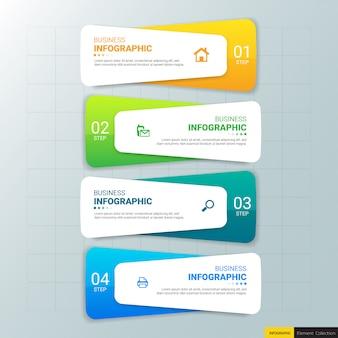 Entwurfsvorlage für business-infografiken