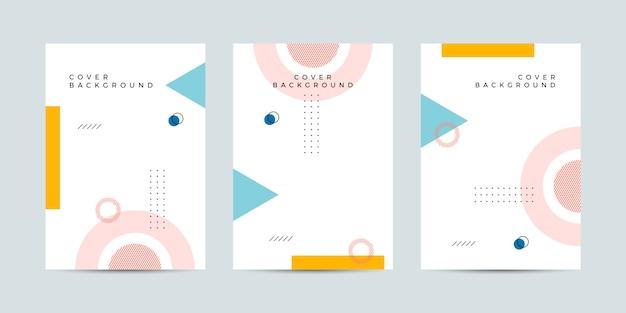 Entwurfsvorlage für memphis cover