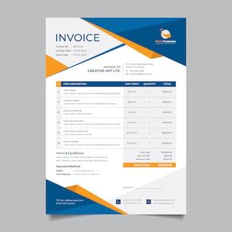 Entwurfsvorlage für unternehmensrechnungen