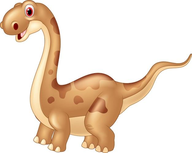 Entzückender niedlicher dinosaurier