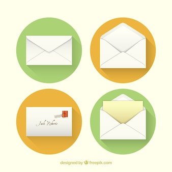 Envelope icons