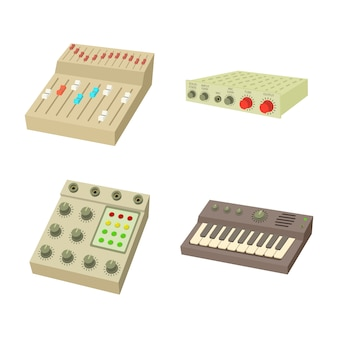 Equalizer-icon-set