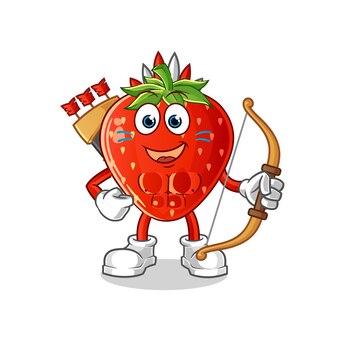 Erdbeer-indianerstamm charakter