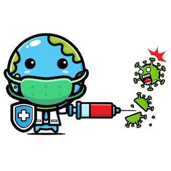 Erddesign gegen coronavirus