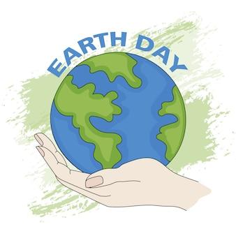 Erde planet day ökologisches problem