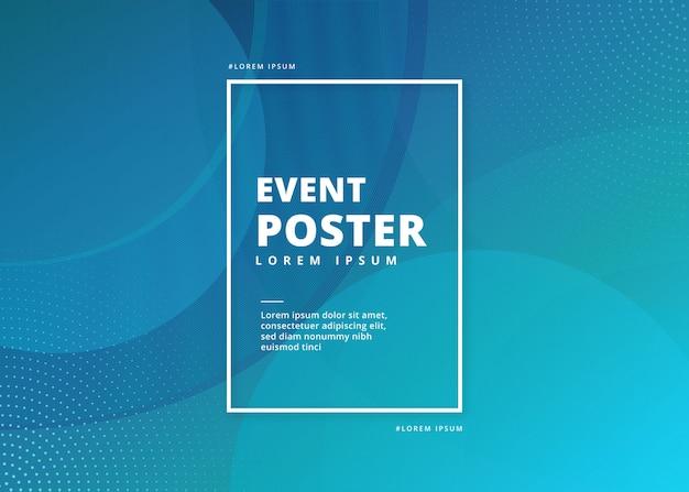 Ereignis-plakat-zusammenfassung