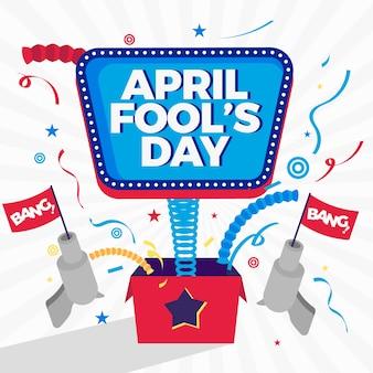Ereignishintergrund des aprilscherztags