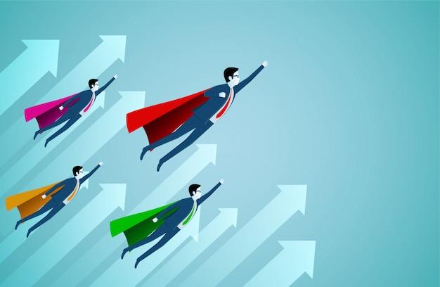 Erfolgreicher superheld