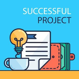 Erfolgreiches projekt