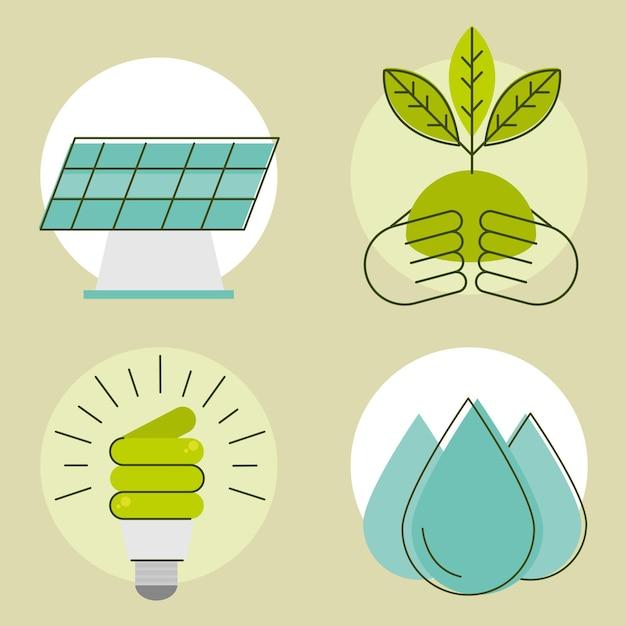 Erneuerbare energien-design