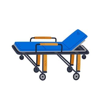 Erste-hilfe-trage medizinische ausrüstung