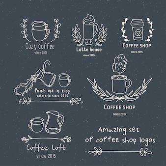 Erstellen sie ihr eigenes café-logo