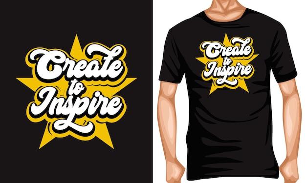Erstellen, um schriftzug typografie zitate zu inspirieren
