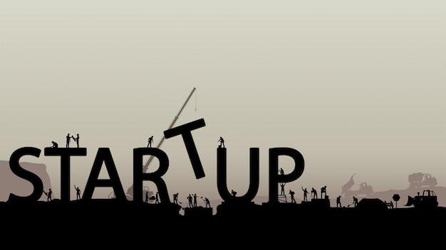 Erstellen von startup-silhouetten