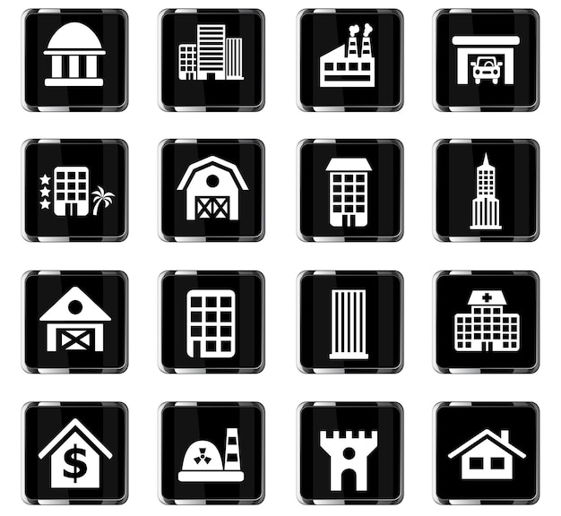 Erstellen von websymbolen für das design der benutzeroberfläche