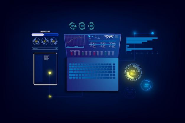 Erstellung einer responsiven internet-website für mehrere plattformen