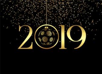 Erstklassiger frohes neues Jahr 2019 Hintergrund