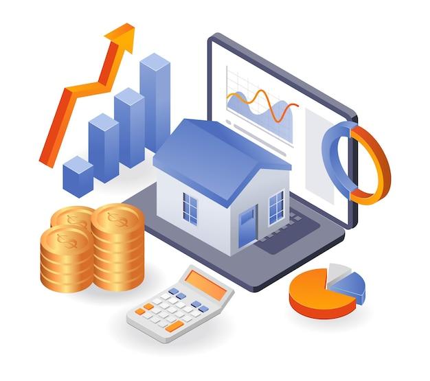 Ertragsanalyse des wohnungsinvestitionsgeschäfts