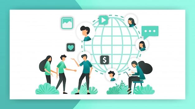 Erweitern sie das network marketing