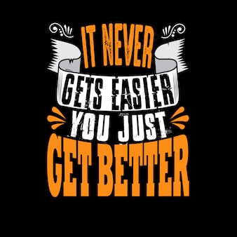 Es wird dir nie einfacher