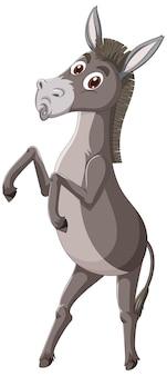 Esel-tier-cartoon-figur