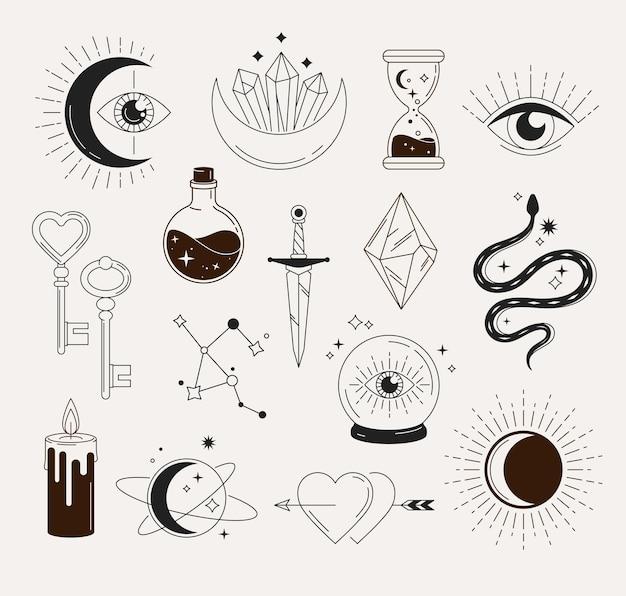 Esoterische magische objekte
