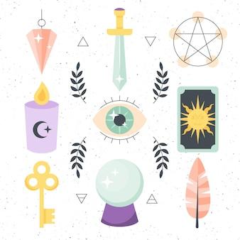 Esoterisches elementdesign