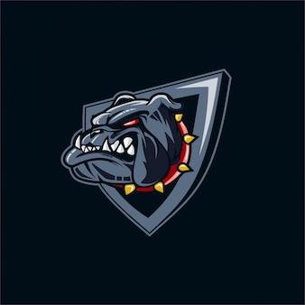 Esport bulldog logo