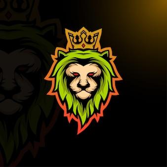 Esport-logo des könig der löwen