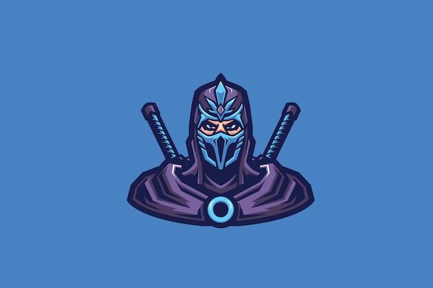 Esport-maskottchen crystal assassins