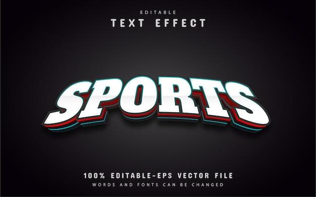 Esport-text, bearbeitbarer 3d-texteffekt