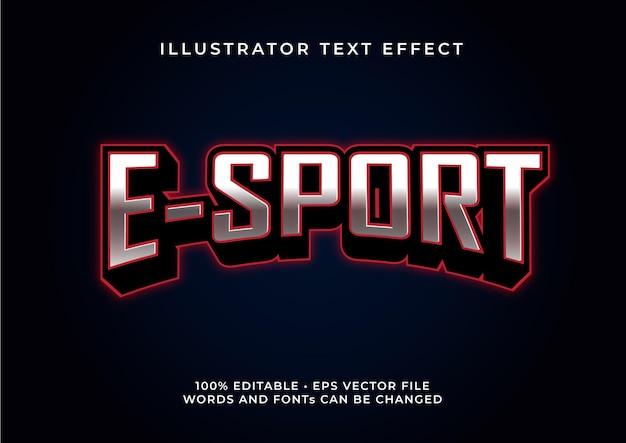 Esport-texteffekt