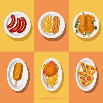 Essen geschirr sammlung