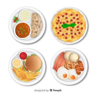 Essen-geschirr-sammlung