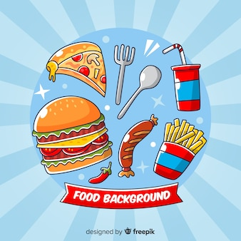 Essen hintergrund